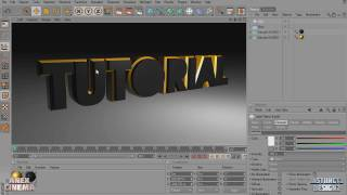 Cinema 4D Tutorial | Professional 3D Text