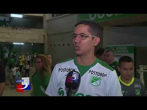 Reacciones de técnico e hinchas del Deportivo Cali tras la caída ante el Medellín en Palmaseca
