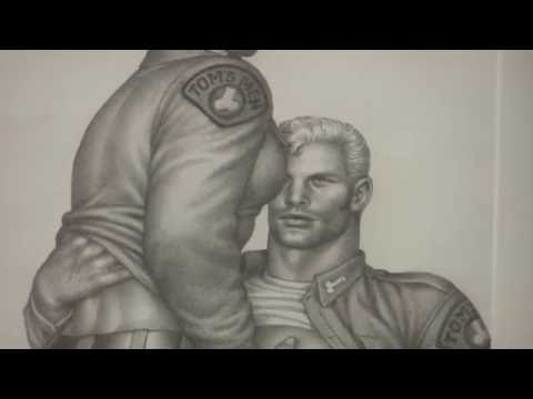 Durk Dehner at The Taidehalli exhibition of Tom Of Finland - Part 1
