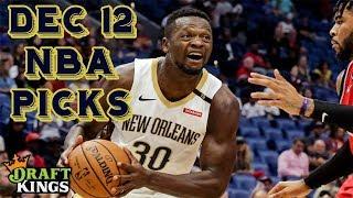 12/12/18 NBA DraftKings Picks