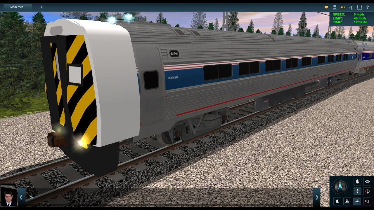 Trainz Horns: My New Amtrak Keystone Cab Car Horn For Trainz - Trainfan1055