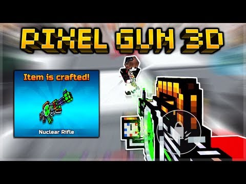 Pixel Gun 3D | I FINALLY Crafted The MYTHICAL Nuclear Rifle!