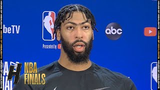 Anthony Davis Postgame Interview - Game 3 | Lakers vs Heat | October 4, 2020 NBA Finals
