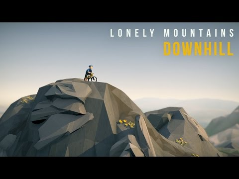 Lonely Mountains: Downhill - Greenlight Trailer [Pre Alpha]