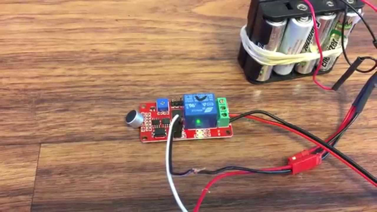 Voice Switch Corridor Sound Module Sensor 12v Relay Detector Wiring In Nonc Wave C17 Youtube