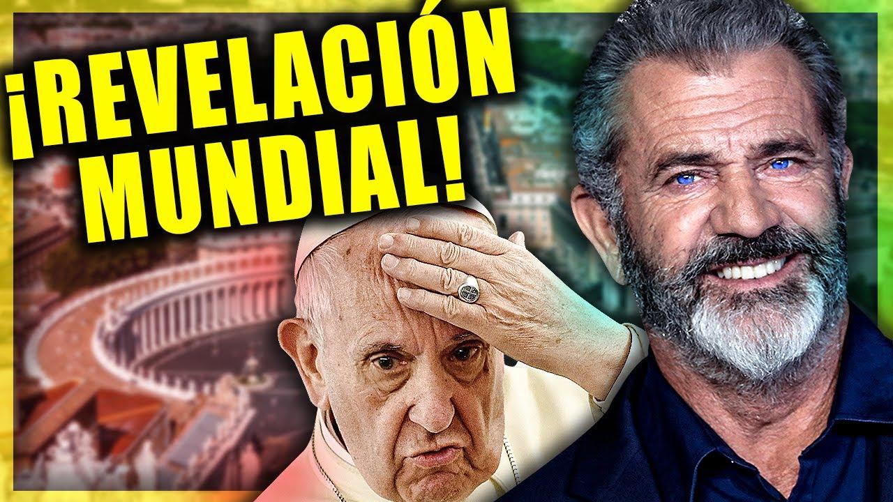 """🔴 REVELACIÓN de Mel Gibson y Carlo Viganó sobre la """"élite"""" del Vaticano y el PAPA"""