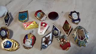 Секреты Антиквара | Как быстро определить ценные значки от мусора | Лайфхак значки СССР
