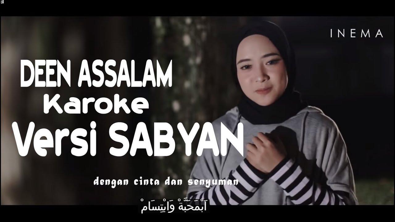 deen assalam - karoke versi sabyan - youtube