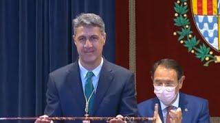 Xavier García Albiol se emociona al jurar el cargo