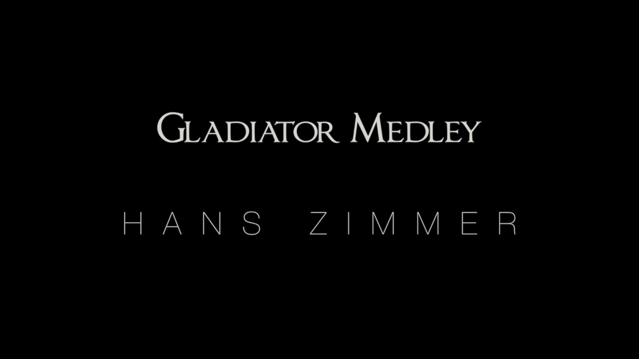 Gladiator medley hans zimmer live in prague for Gladiator hans zimmer