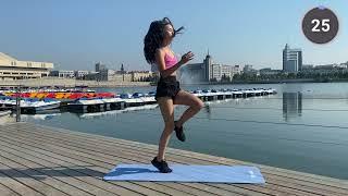 Жиросжигающая Кардио Тренировка На Все Тело Марафон Похудения
