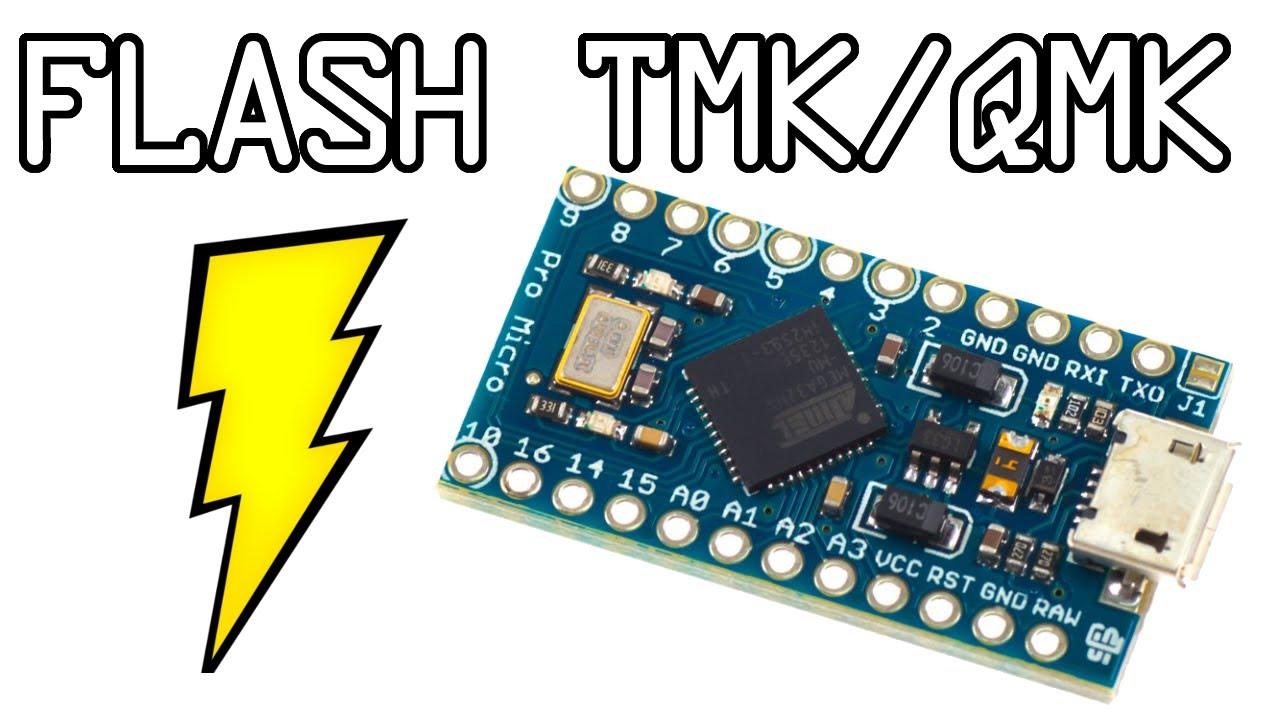 Flashing TMK and QMK on windows