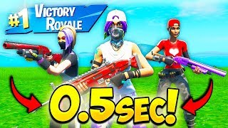 *WORLDS FASTEST* TRIO RANKED ARENA MATCH!! - Fortnite Funny Fails and WTF Moments! #676