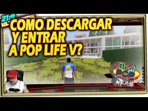 👔 Como Descargar y Entrar a POP LIFE 5? Tutorial Español 21:9