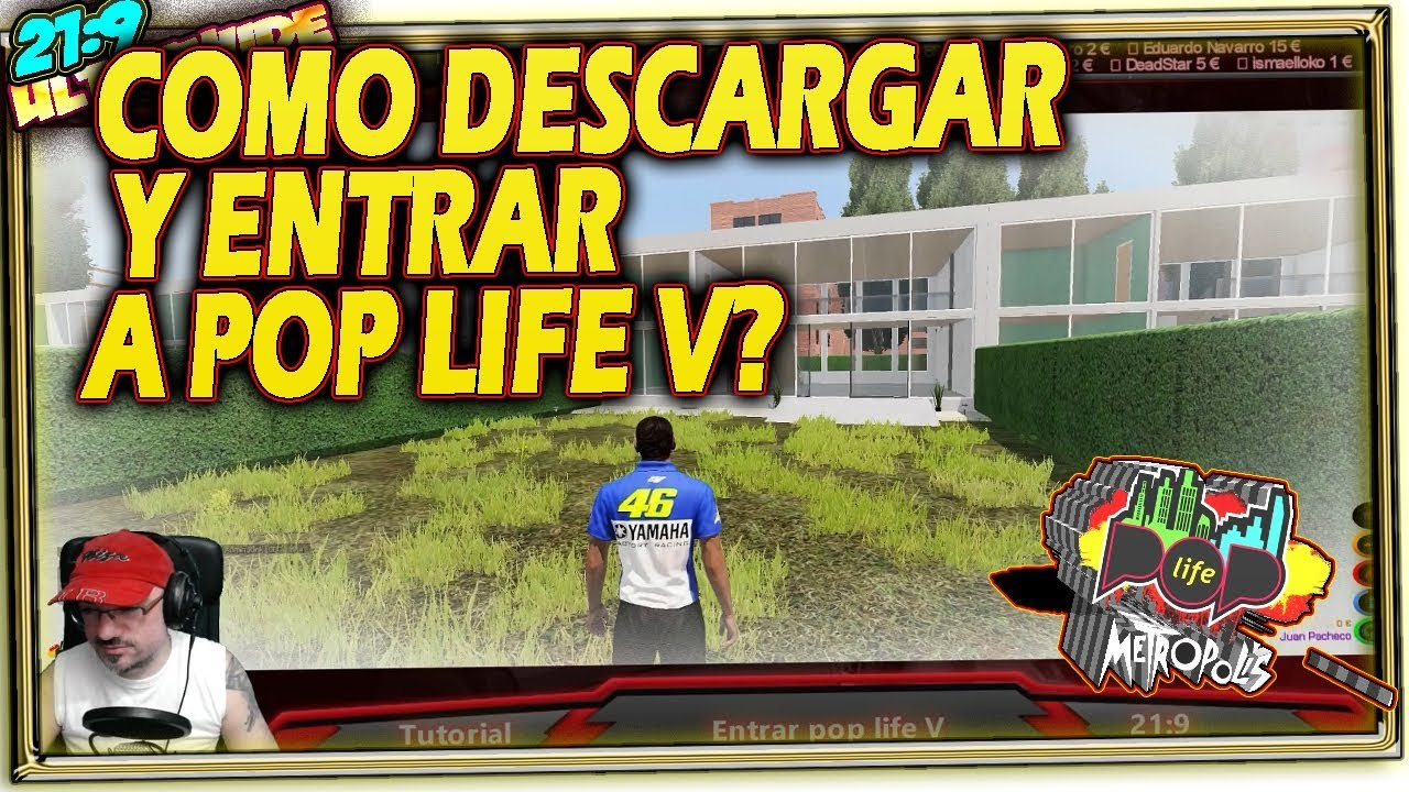 Como Descargar Y Entrar A Pop Life 5 Tutorial Español 21 9 Youtube