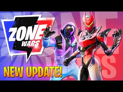 NEW UPDATE - ZONE WARS!! (Fortnite Battle Royale)