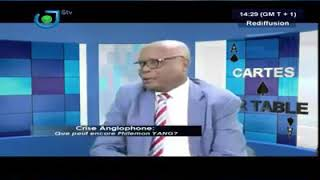 STV. HEATED DEBATE ON SOUTHERN CAMEROON CRISIS.
