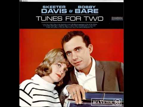 Skeeter Davis & Bobby Bare - I Love You