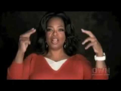 Oprah Winfrey powerful inspiring words that speaks to the laws of attraction