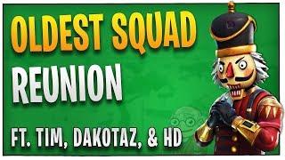 Fortnite - The Oldest Squad Reunion -ft. TimTheTatman, HighDistortion, Dakotaz | DrLupo