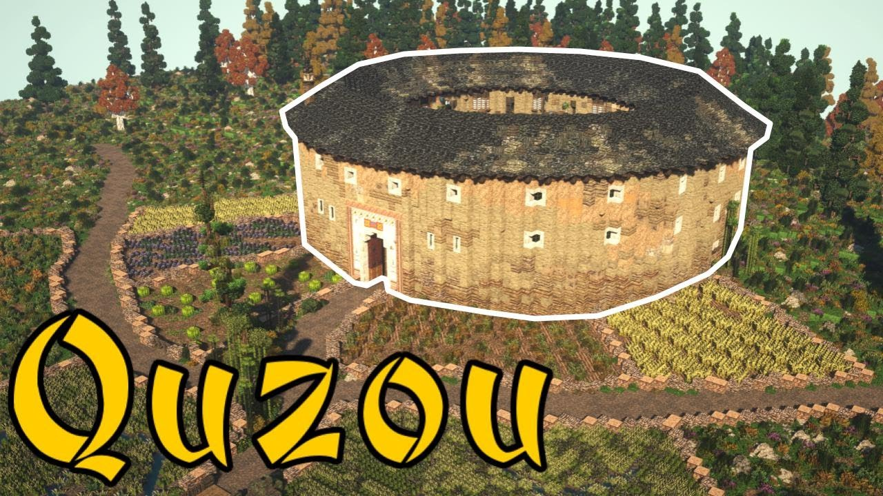 Minecraft Tour of Quzou: A Traditional Chinese Tulou