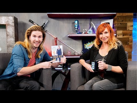 Q&A w MythBusters & White Rabbit Project's Kari Byron Live!  Because Science Live