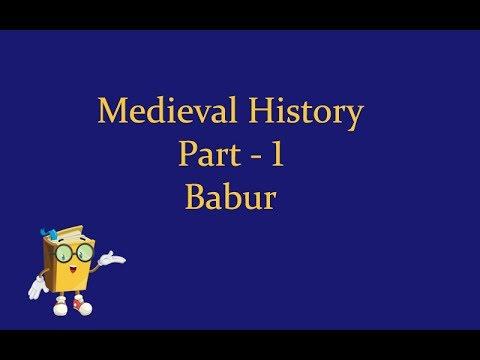 Medieval history Babur
