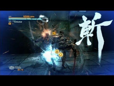 「メタルギア ライジング リベンジェンス」DLC第2弾「JETSTREAM」プレイムービー