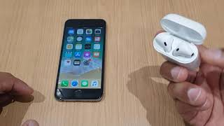 Connect iPhone 6 to Apple Airpods - How to