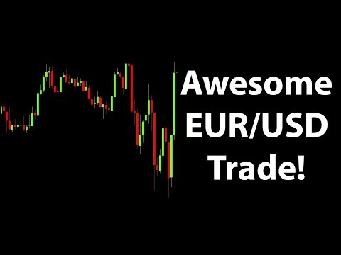 Awesome Forex Live Trading In The Eur Usd