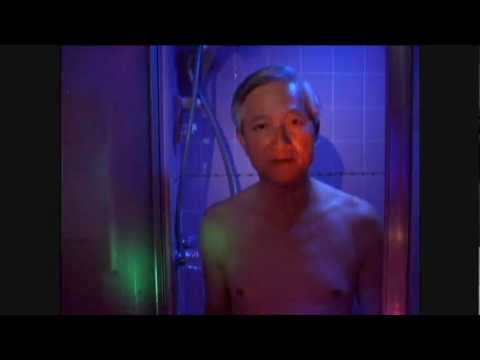 Older Asian man 'rapping' in the shower (4 years, 24 views), Oddly high production value