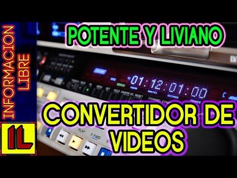 ★Descargar El Mejor【Convertidor De Videos】[Gratis] Rapido Liviano