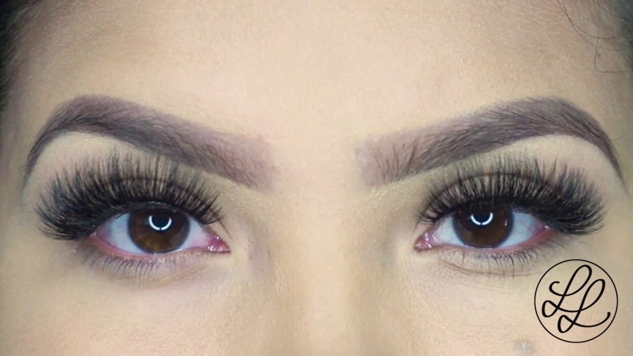05797d0767d Khloe Lashes I Lena Lashes - YouTube
