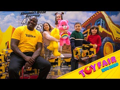 Ellen Kids Go To Toy Fair 2020