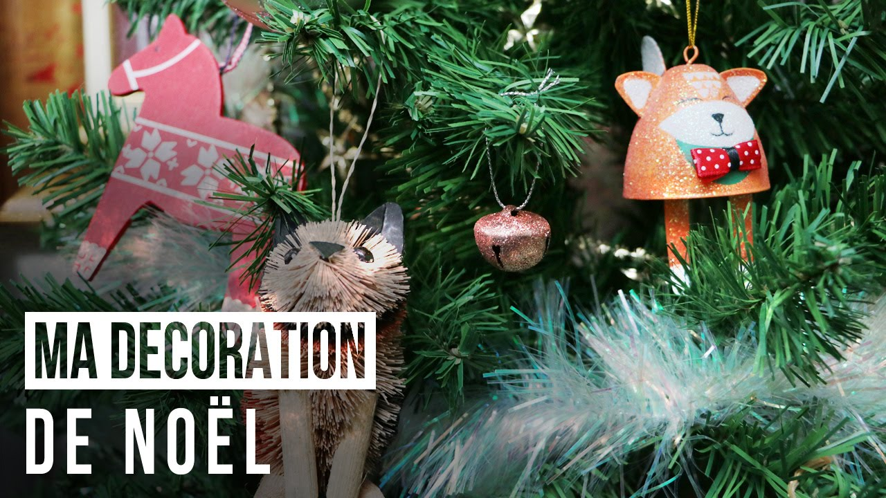 Ma d coration de no l diy youtube for Youtube decoration de noel