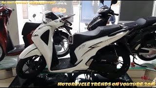 New 2017-2018 Honda SH125i ABS New Models (eps1)