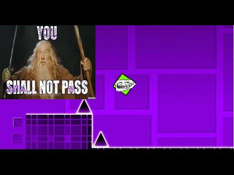 Geometry Smash, YOU SHALL NOT PASS| Geometry Dash| #1