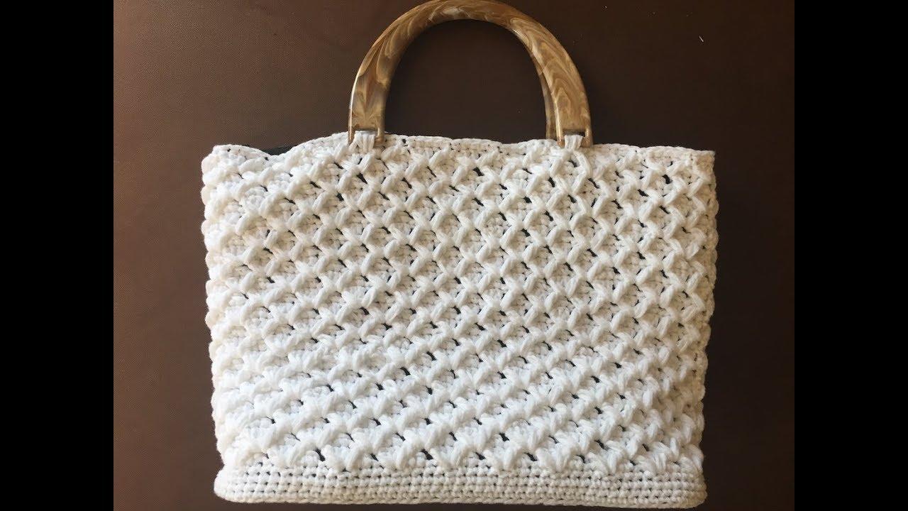 Tuto Sac A Main Au Crochet Youtube