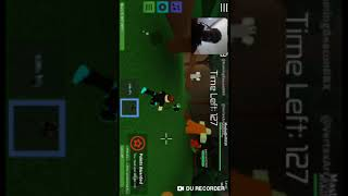 Frist time playing Roblox on my phone