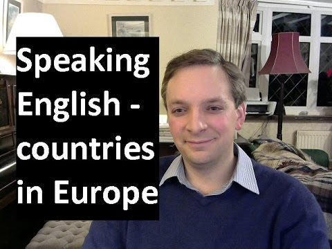 English Pronunciation 33: countries in Europe (British accent)