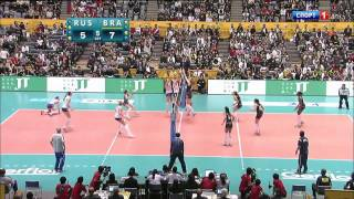 2010 FIVB Women's World Championship Final - Russia vs Brasil clip9