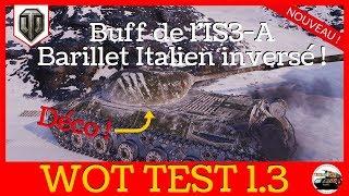[WoT FR] Buff de l'IS3-A et décoration des Tanks - World of Tanks 4K (français)