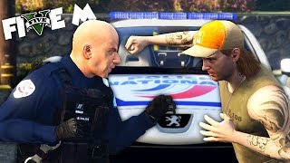 POLICE NATIONALE VS VOLEURS ! (GTA 5 Five M Fun)