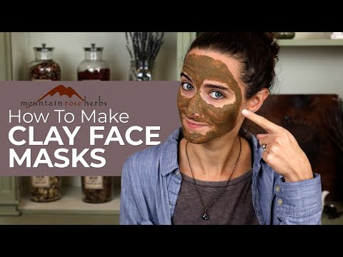 How to Make Clay Face Masks with Mountain Rose Herbs