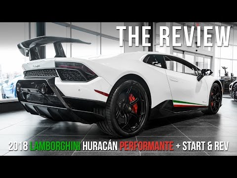 2018 Lamborghini Huracán Performante Review with START + REV