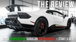 2018 Lamborghini Huracán Performante Review With START + REV