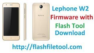 Lephone W2 Firmware Spd