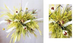 Nicole花藝教室|DIY 懸浮花藝裝置Suspended Hanging Floral Installation