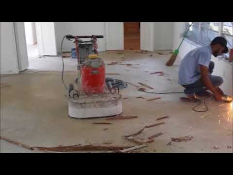 How To Repair Terrazzo Floors In Miami Youtube