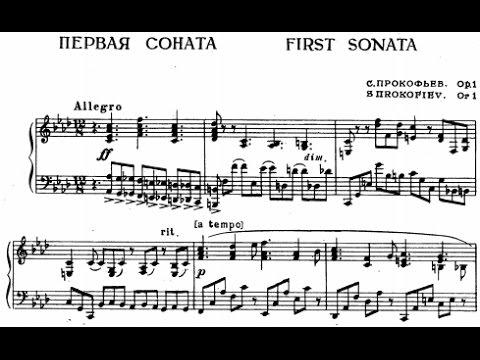 Image result for prokofiev piano sonata 1